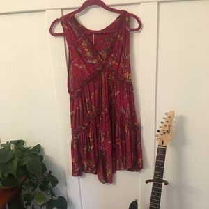 Free people bright floral dress